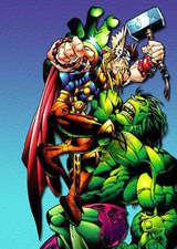 绿巨人大战雷神托尔